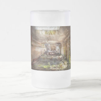 Jail - Eastern State Penitentiary - The mess hall Frosted Beer Mugs