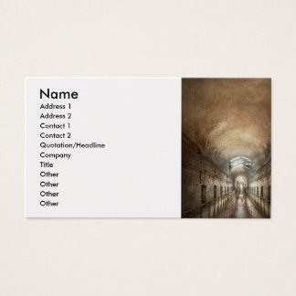 Jail - End of a journey Business Card