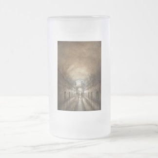 Jail - End of a journey 16 Oz Frosted Glass Beer Mug