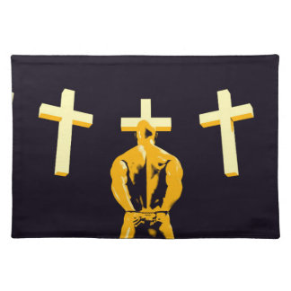 Jail Prison and Religion Christianity as a Concept Cloth Placemat