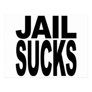 Jail Sucks Post Card