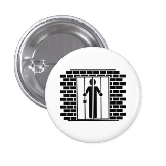 'Jail Time I' Pictogram Button