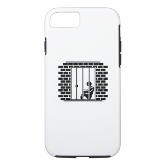 Jail Time II Pictogram iPhone 7 Case