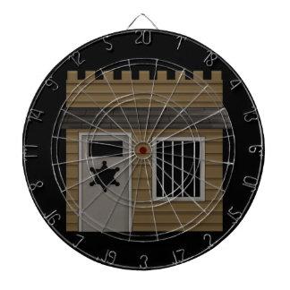 Jail - Western Dartboard With Darts