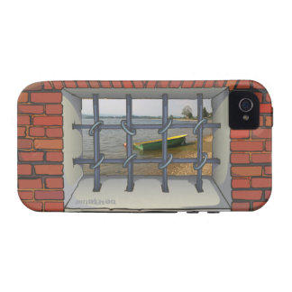 Jail Window View iPhone 4 Case-Mate Case