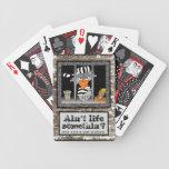 Jailbird playing cards