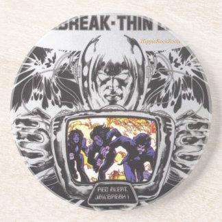 Jailbreak Thin Lizzy HippieRockRoots Coasters