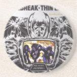 Jailbreak Thin Lizzy HippieRockRoots Posavasos Diseño