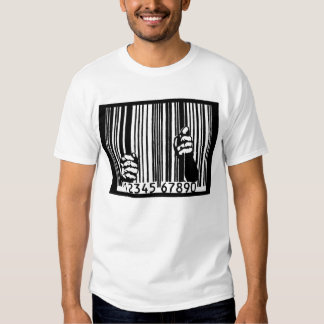Jailed by the Barcode T Shirts
