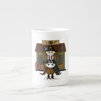 Jailhouse Cowboy on Horse China Cup Tea Cup