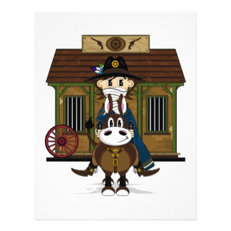 Jailhouse Cowboy on Horse Flyer