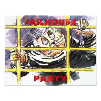 JAILHOUSE THEMED INVITATION HOST A POKIE PARTY
