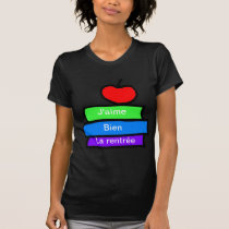J'aime bien la renrée, Back to School T-Shirt