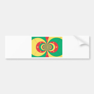 J'aime Cameroon Bumper Sticker
