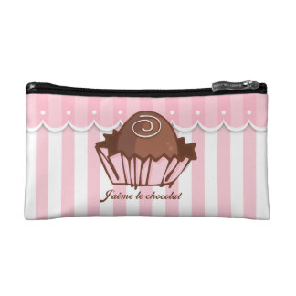 J'aime Chocolat Cosmetics Bags