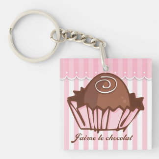 J'aime Chocolat Keychain