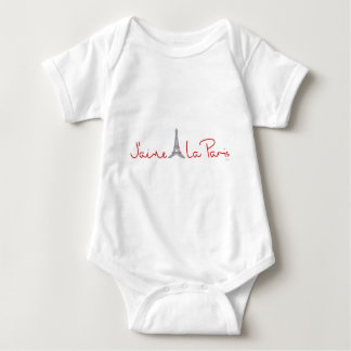 J'aime La Paris (I love Paris) Baby Bodysuit