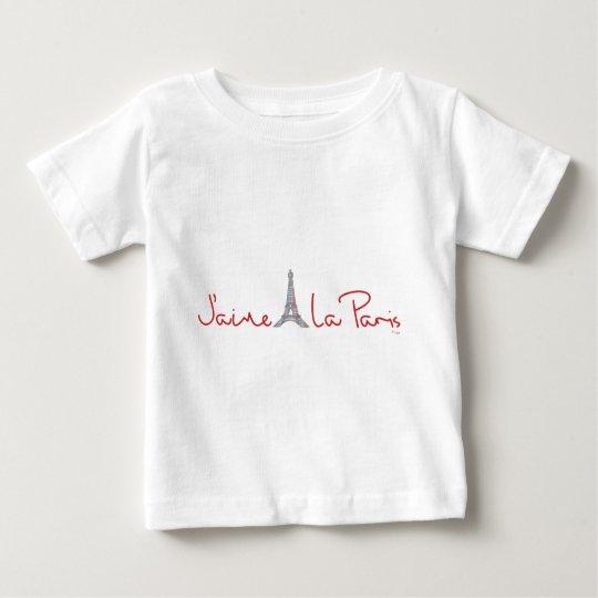 J'aime La Paris (I love Paris) Baby T-Shirt