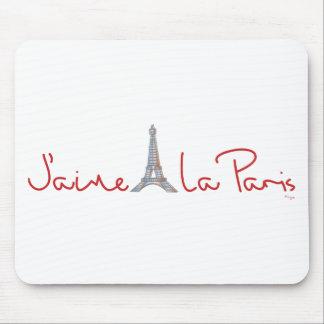 J'aime La Paris (I love Paris) Mouse Pad