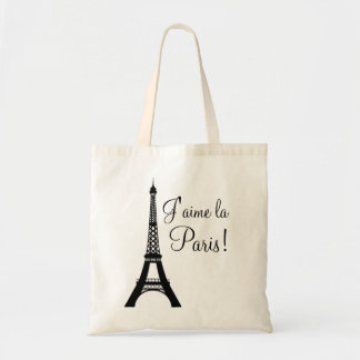 J'aime la Paris I love Paris Tote Bag