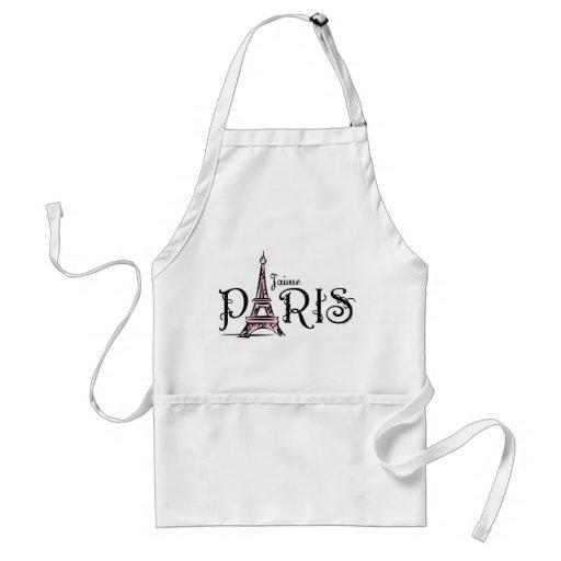 J'aime Paris Apron