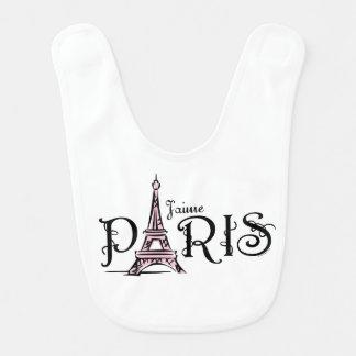 J'aime París Babero De Bebé