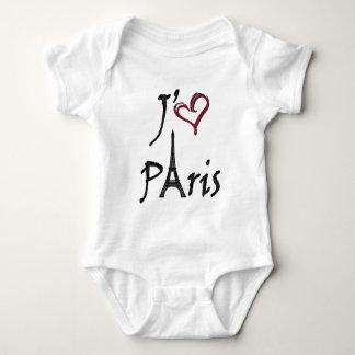 j'aime Paris Baby Bodysuit