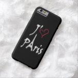 j'aime París Funda De iPhone 6 Barely There