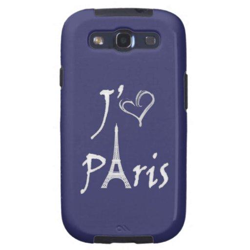 j'aime París Galaxy S3 Protector