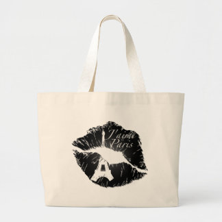 J'aime Paris Lips Tote Bag
