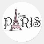 J'aime Paris Sticker
