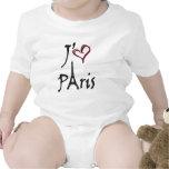 j'aime París Traje De Bebé