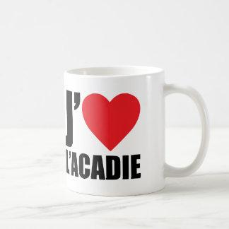 J'aimeL' acadie Coffee Mug
