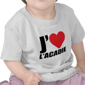J'aimeL' acadie T-shirts