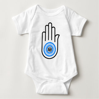 Jain Hand Baby Bodysuit