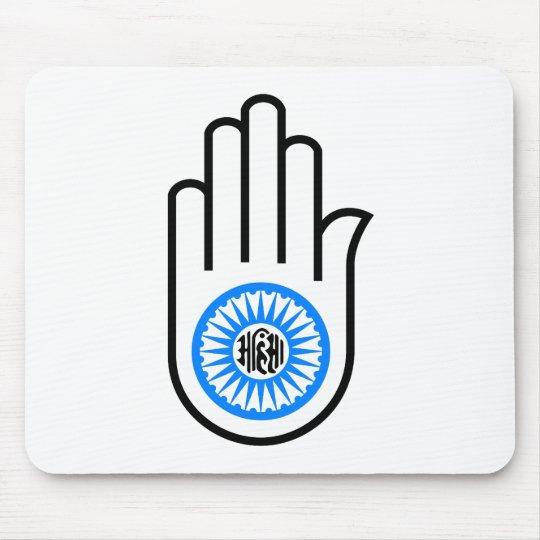 Jain Hand Mouse Pad