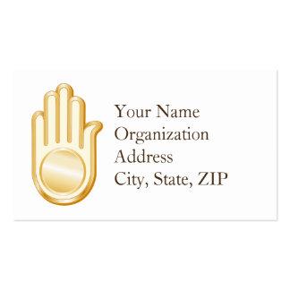 Jain Symbol Business Card