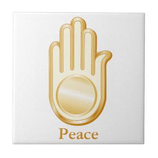 Jain Symbol Ceramic Tile
