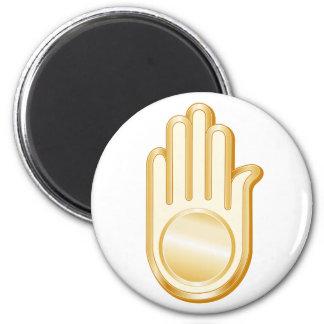 Jain Symbol Magnet