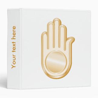 Jain Symbol Notebook Binder