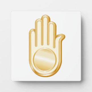 Jain Symbol Plaque