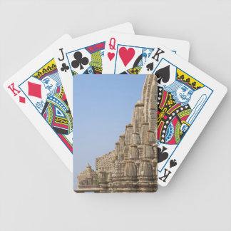 Jain temple in Chittorgarh Fort, India Bicycle Playing Cards
