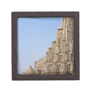 Jain temple in Chittorgarh Fort, India Gift Box