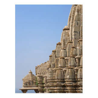 Jain temple in Chittorgarh Fort, India Postcard