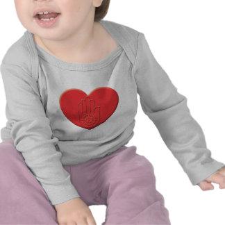 Jainism Heart Tee Shirts