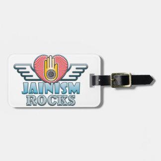 Jainism Rocks Bag Tag