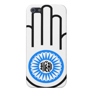 Jainism Symbol Hand and Wheel Reading Ahimsa Cover For iPhone SE/5/5s
