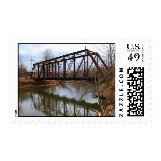 Jaite Railrood Bridge USA Forever Postage Stamp