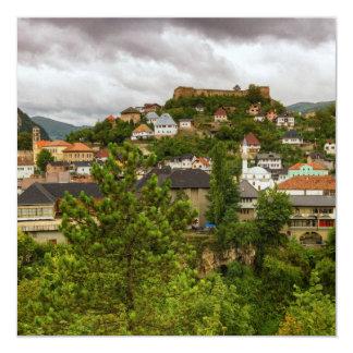 Jajce, Bosnia and Herzegovina Card