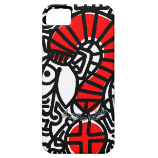 jak arnould 0282 red snack phone iPhone 5 covers